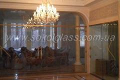 Designs of doors all-glass | Sokolglass