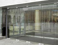 Doors entrance glass oar | Sokolglass
