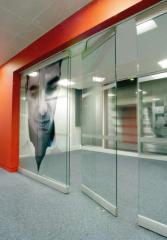 Partitions glass sliding | Sokolglass
