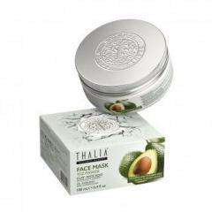 Глиняная маска для лица Thalia с маслом авокадо, 100 мл