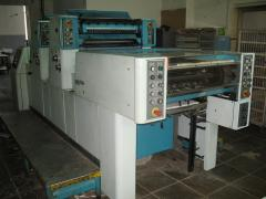 Offset sheet 2nd colourful machine Polly 266