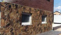 Carpathian stone (slate) for facing, external and