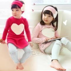 Комплект для девочки лосины+туника+повязка