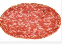 Additives food for sausage production. Salami,
