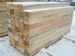 Шпала деревянная не пропитанная Тип 2-А (160x230x2750). Экспорт.