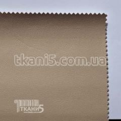 Ткань Кожзам плотный zeus deluxe (кофе с молоком)