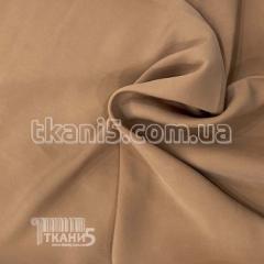 Ткань Мокрый шелк - купра (светло-коричневый)