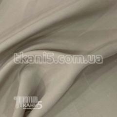 Ткань Мокрый шелк - купра (холодно-бежевый)