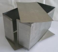 Перфовставки для форм прямоугольные