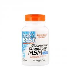 Doctor's Best, Глюкозамин, хондроитин и МСМ с
