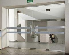 Doors pendular glass | Sokolglass
