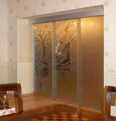 Interroom sliding doors glass | Sokolglass