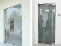 Doors glass pendular | Sokolglass