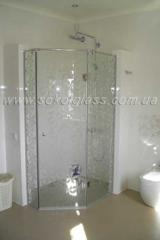 Door glass in shower | Sokolglass