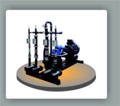 USB oil compounding installation - for processing