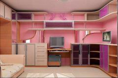 Мебель (Мебель для детской комнаты под заказ)