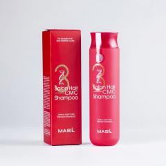 Восстанавливающий шампунь с аминокислотами Masil 3