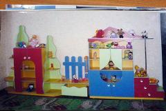 Стенки для детских садов под заказ