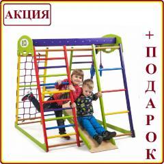 Деревянный детский Спортивный комплекс в...