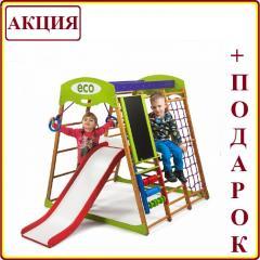 Деревянный Детский спортивный комплекс для...