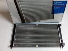 Радиатор охлаждения ВАЗ 2123 алюм., ДААЗ (гарантия