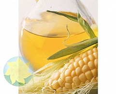 The corn oil filtered