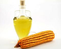Oil from corn germs