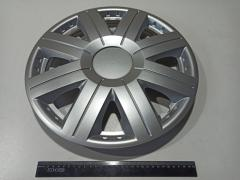 Caps on car wheels