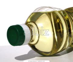 The sunflower oil which is not refined an art