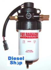 Filter separator of Stanadyne Fuel Manager FM100