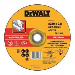 Круг отрезной по металлу 230х3.0х22.23 мм DeWALT