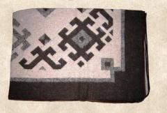 Blanket p/sh jacquard
