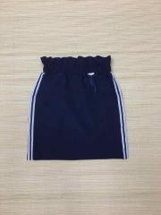 Школьная юбка карандаш для девочки с карманами и