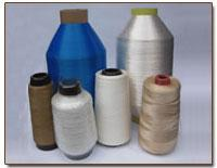Threads are polyamide, threads large and small