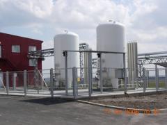 Станция газификации для хранения и подачи