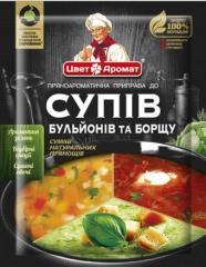Смесь натуральных специй и пряностей для супа,