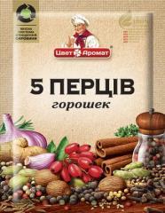 Приправа 5 перцев, 15 г