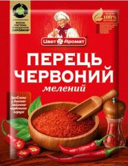Ground red pepper, 15 g