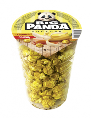 Popcorn in caramel with banana flavor (glass), 60