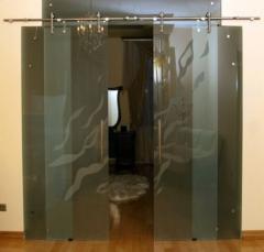 Механизмы для раздвижных стеклянных дверей |