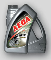 Oil transmission LEOL QUATTRO of super SAE 80W-90,