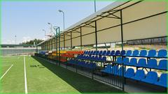 Stands are spectator