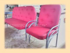 Мебель для приемных. КРЕСЛА И ДИВАНЫ НА