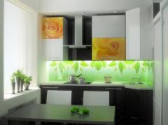 Кухонные фартуки стеклянные | Sokolglass
