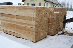 Not impregnated sleepers, pine, Type 1-A. Export