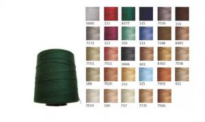 Yarns for production of upholstered furniture,