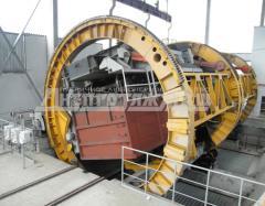 Вагоноопрокидыватель роторный ВРС 93  (стационарный ) обеспечивает разгрузку ж/д полувагонов грузоподъёмностью 93-110 тонн, пр-во Днепротяжмаш, Украина
