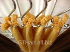 Natural hair of BLOND and RUSYY of Single Drown on