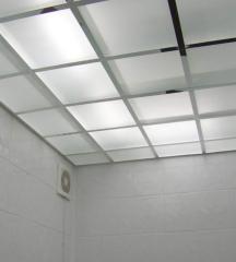 Потолки стеклянные | Sokolglass