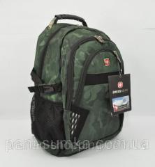 Рюкзак городской SwissGear 9363 ,  выход для...